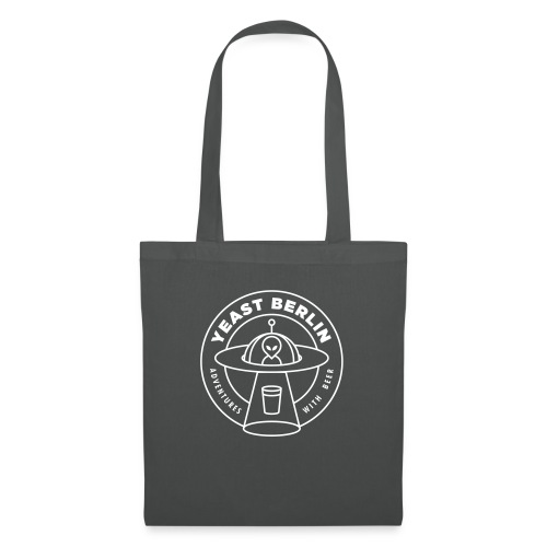 Yeast Berlin Original White Logo - Tote Bag