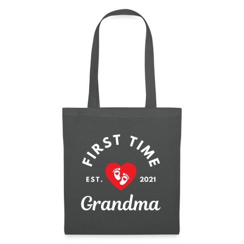 First time Grandma - est 2021 - Stoffveske