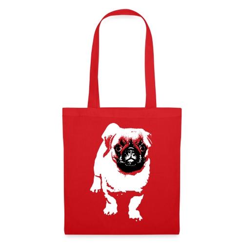 Mops Hund Hunde Möpse Geschenk - Stoffbeutel