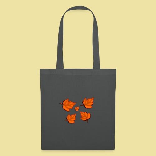 Herbstblätter - Stoffbeutel