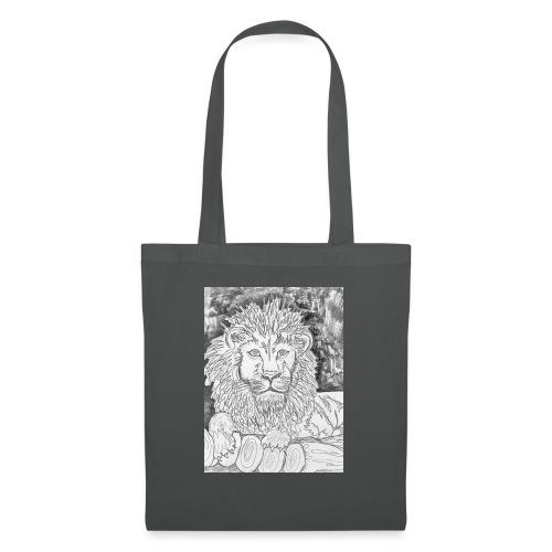 leone - Borsa di stoffa