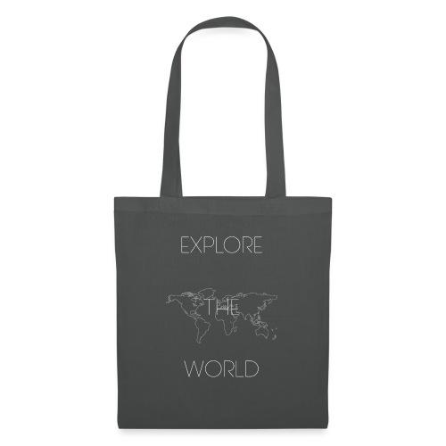 EXPLORE THE WORLD - Bolsa de tela