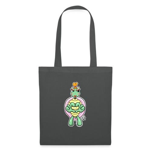 Girlie Turtle/ Schildkröte - Stoffbeutel