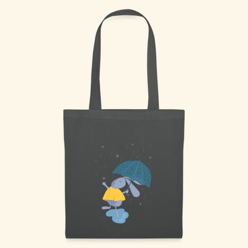 happy in the rain - Tote Bag