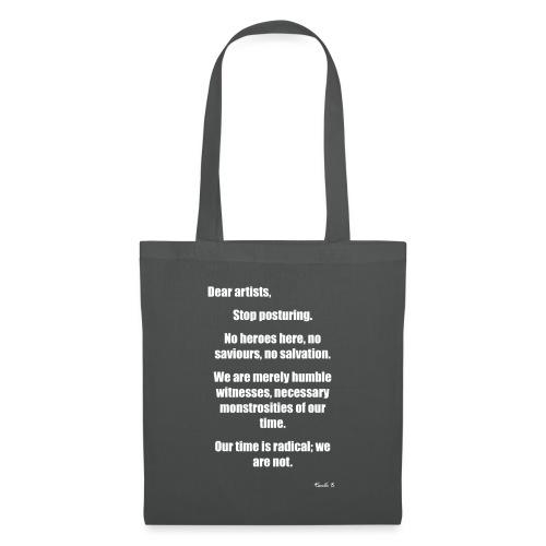 dear artists - Tote Bag