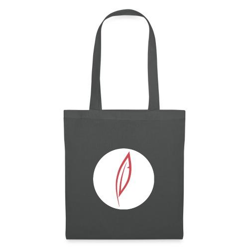 Logo - Rond blanc - Sac en tissu