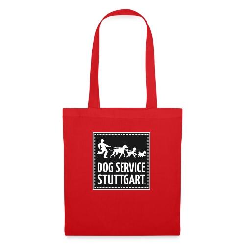 Dog Service Stuttgart schwarz - Stoffbeutel