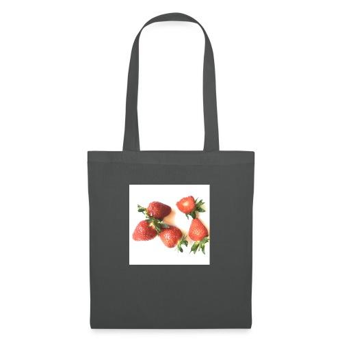 Rode Erdbeern - Stoffbeutel