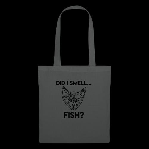 Did I smell fish? / Rieche ich hier Fisch? - Stoffbeutel
