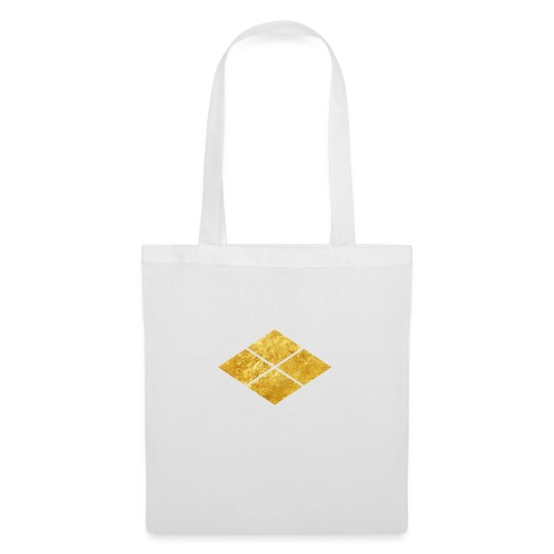 Takeda kamon Japanese samurai clan faux gold - Tote Bag
