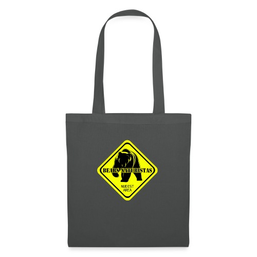 bears naturistas - Bolsa de tela