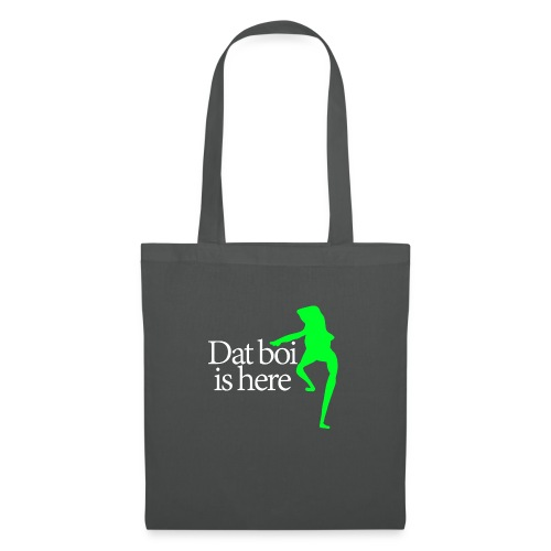 Dat boi shirt white writing - men - Tote Bag