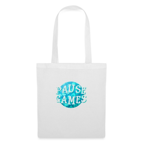 Pause Games New Design Blue - Tote Bag