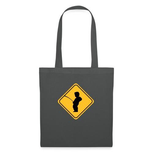 Manneken Pis sign - Tote Bag
