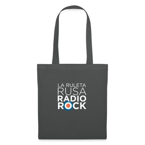 La Ruleta Rusa Radio Rock. Retrato blanco - Bolsa de tela