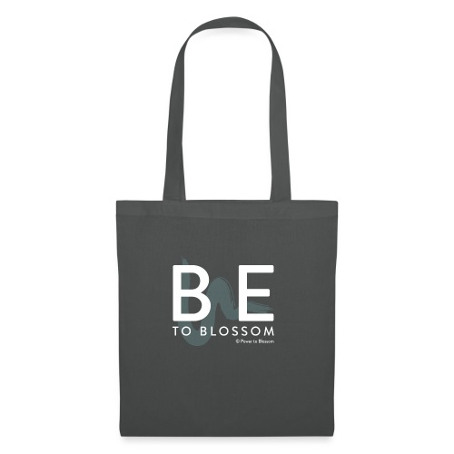 be to blossom swoosh (white) - Tote Bag