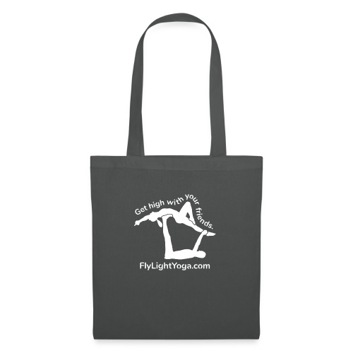 White: Get high with your friends - AcroYoga - Tote Bag