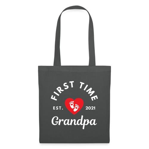 First time grandpa 2021 - Stoffveske
