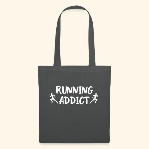 Running Addict Men Männer süchtig nach Laufen - Stoffbeutel