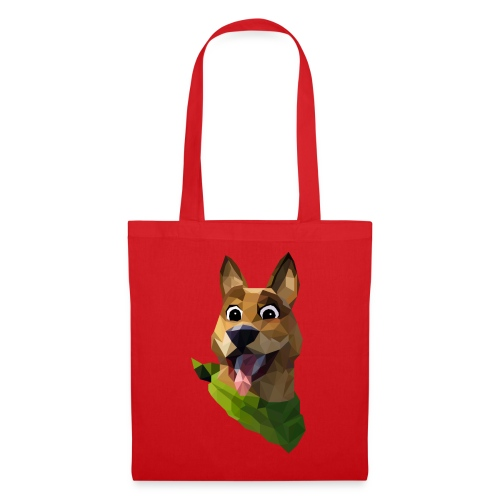 LOW POLY DOGO - Tote Bag
