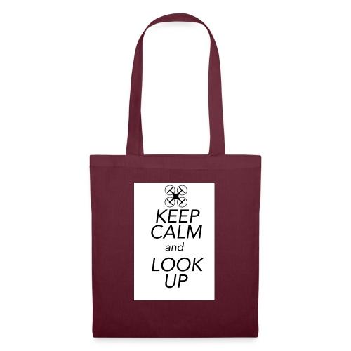 Keep Calm and Look Up - Tas van stof
