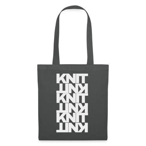 Garter Stitch, light - Tote Bag