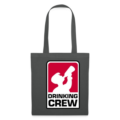 Drinking Crew Logo - Stoffbeutel