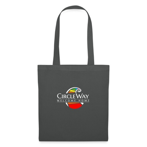 Circleway Welcome Home Logo – weiß - Stoffbeutel