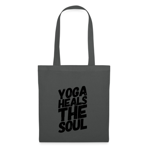 yoga heals the soul - Tas van stof