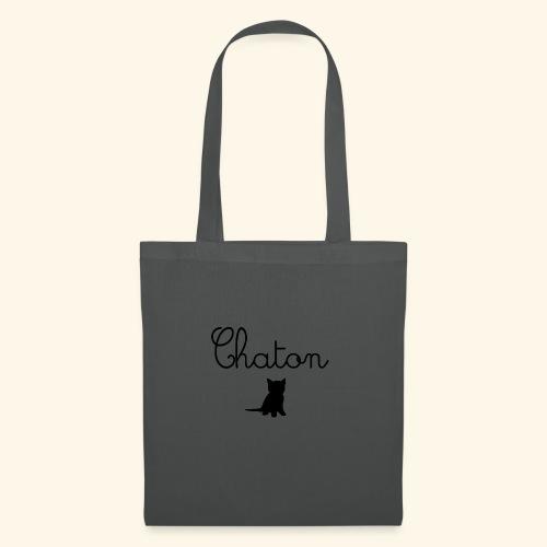 Chaton - Sac en tissu