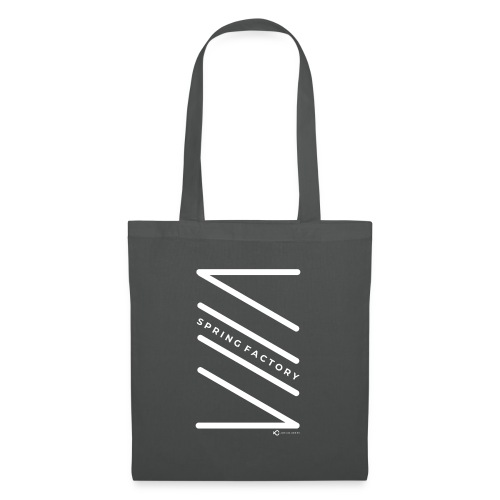 SPRING FACTORY WHITE - Tote Bag