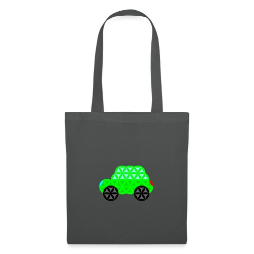 The Car Of Life - M01, Sacred Shapes, Green/R01. - Tote Bag