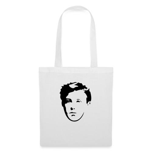 Arthur Rimbaud visage - Sac en tissu