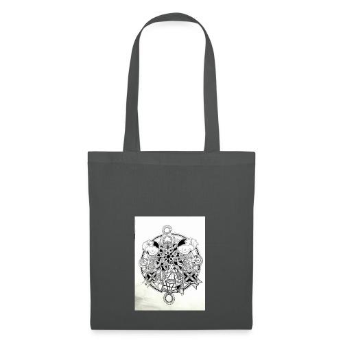 guerriere celtique entrelacs bretagne femme - Tote Bag
