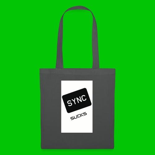 t-shirt-DIETRO_SYNK_SUCKS-jpg - Borsa di stoffa