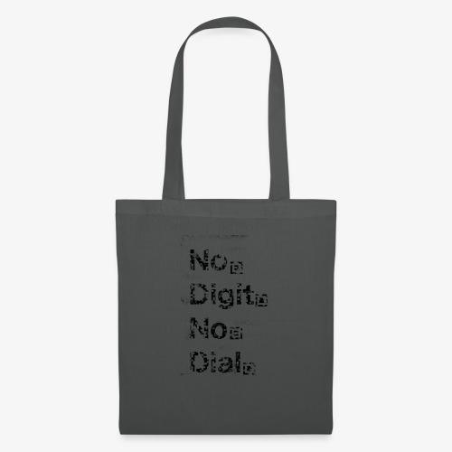 No Dial - Stoffbeutel