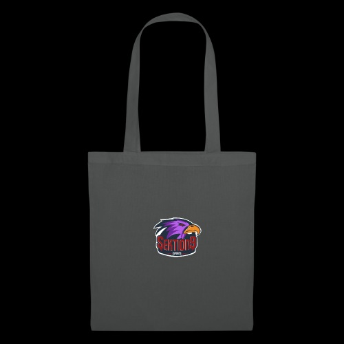 Sektion9 logo lila - Stoffbeutel