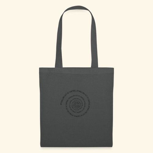 SPIRAL TEXT LOGO BLACK IMPRINT - Tote Bag