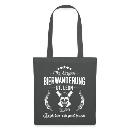 Bierwanderung Logo Drink beer - Stoffbeutel