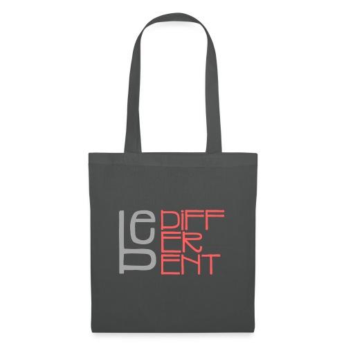 Be different - Fun Spruch Statement Sprüche Design - Stoffbeutel
