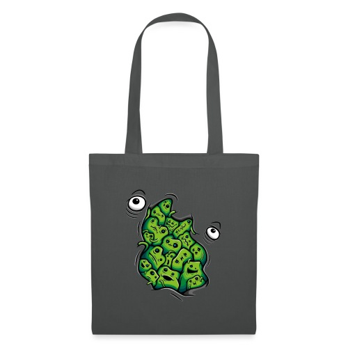 Getting Outside (green version) - Tote Bag