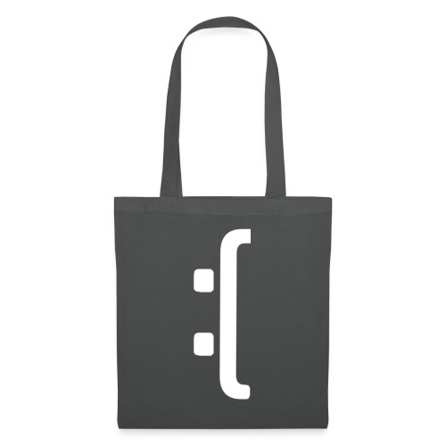 A 'Sad Face' Design :( , Designed by Browney. - Tote Bag
