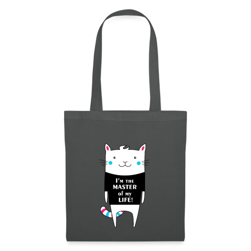 Cat I am the master of my life! - Tote Bag