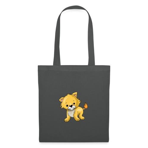 Babyleeuw - Tas van stof