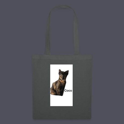 Coco the Kitten and inspirational quote Combined - Tote Bag