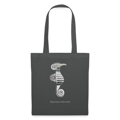 hippocampus architecturalis (épuré) - Sac en tissu