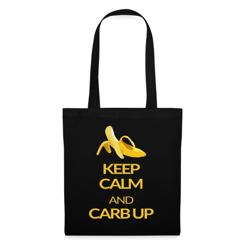 KEEP CALM and CARB UP - Stoffbeutel