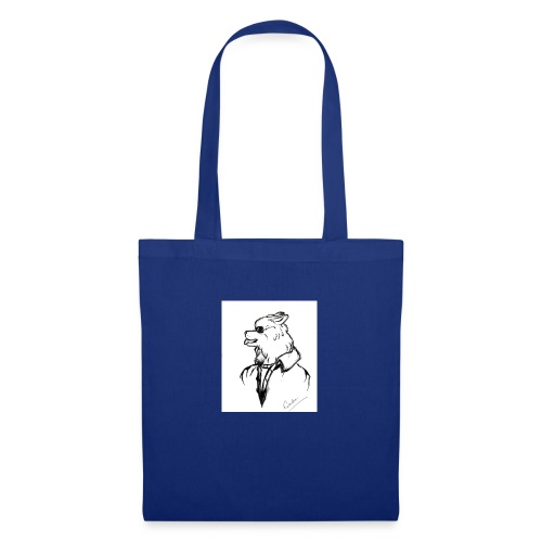 InkedThe Dog style bak LI - Bolsa de tela