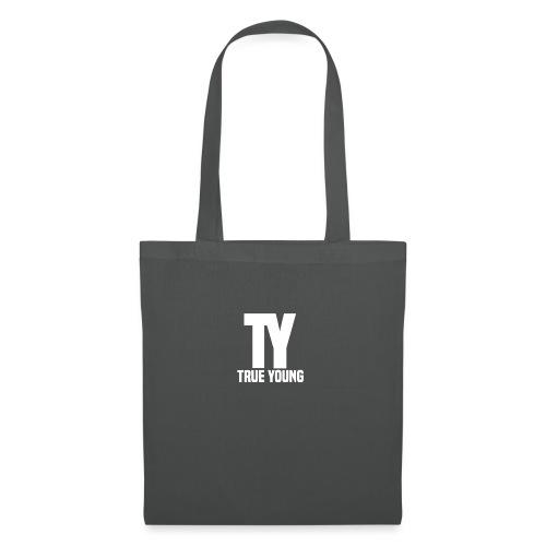 True Young Hoodie Black | Unisex - Tas van stof