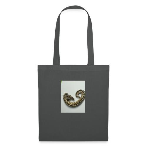 forma serpiente - Bolsa de tela